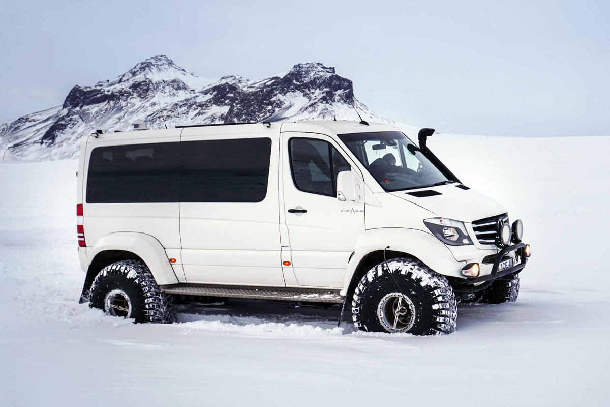 "MB Sprinter modified 46"" Super Truck - Iceland Outdoor"