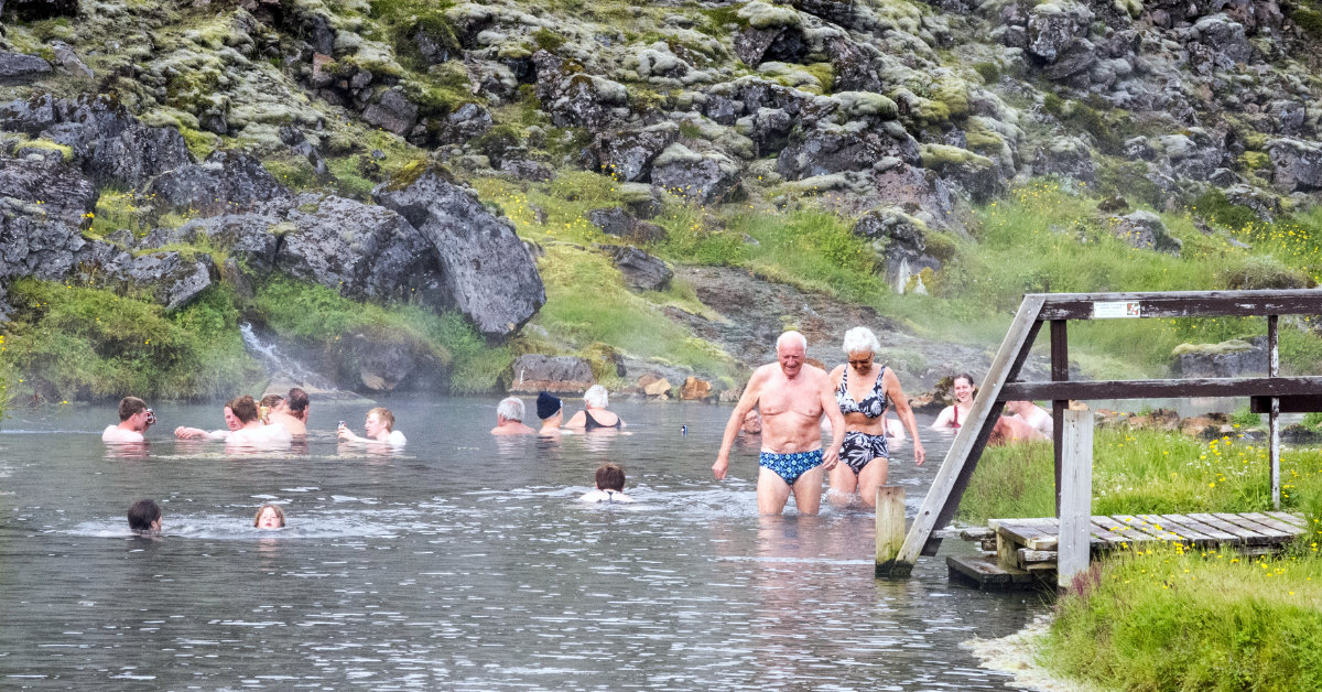 LANDMANNALAUGAR (PEOPLE'S POOL) - geothermal hot spring