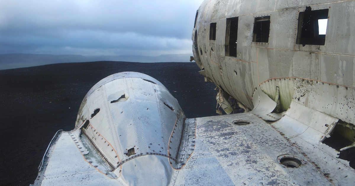 DC3 plane wreck in Sólheimasandur