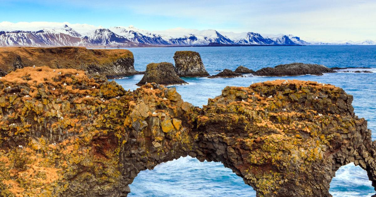 Arnarsatpi, Hellnar, Rock Formation