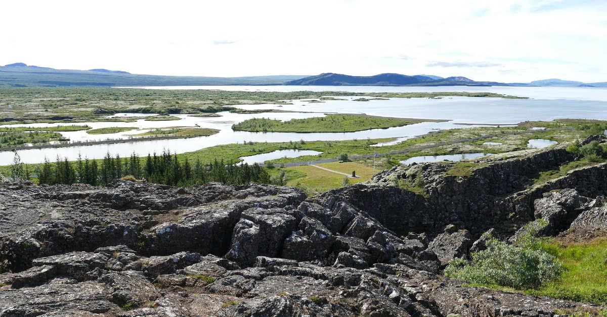 Almannagjá / Thingvellir Iceland