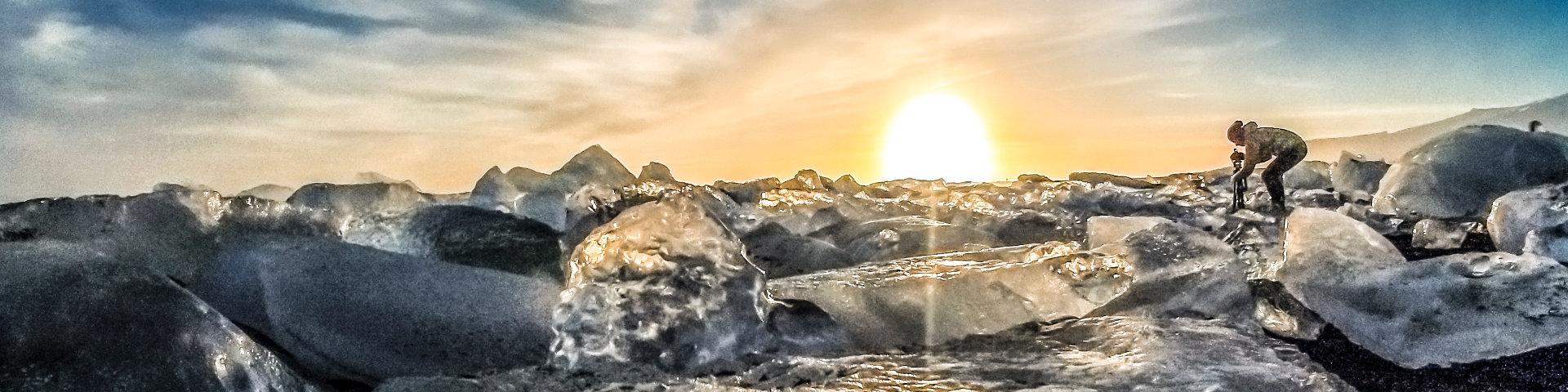 Glacier Lagoon / Black Beach