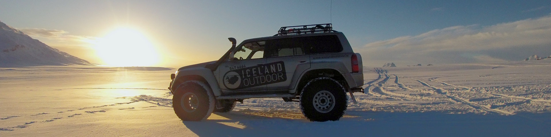 Golden Circle & Glacier, Iceland Outdoor, Private Super Jeep Tour, Langjökull Glacier.
