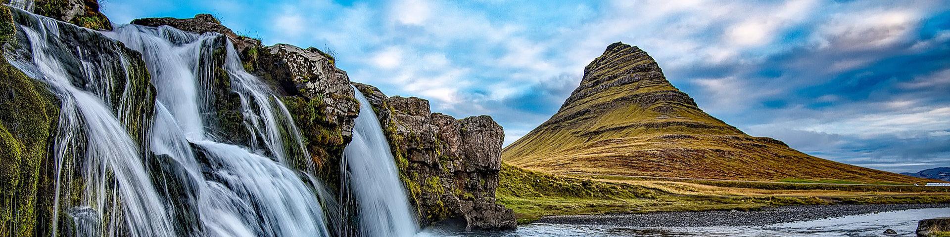 Mt. Kirkjufell in Grundarfjörður Iceland